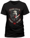 Walking Dead- Survive Protect Defend T-shirts