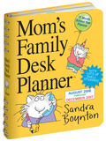 Mom's Family Desk Planner - 2017 Planner Calendars