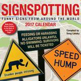 Signspotting - 2017 Boxed Calendar Kalender