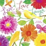 Live Love Laugh - 2017 Mini Calendar Kalendarze