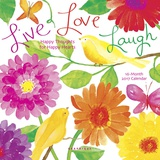 Live Love Laugh - 2017 Mini Calendar Calendars