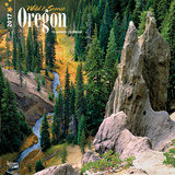 Oregon, Wild & Scenic - 2017 Calendar Calendriers