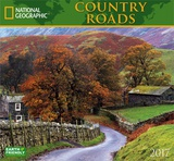 National Geographic Country Roads - 2017 Calendar Calendars