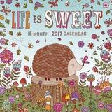 Life is Sweet - 2017 Mini Calendar Calendriers