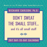 Don't Sweat the Small Stuff - 2017 Boxed Calendar Calendriers