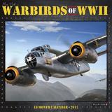 Warbirds of WWII - 2017 Calendar Kalendáře