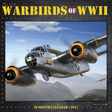 Warbirds of WWII - 2017 Calendar - Takvimler