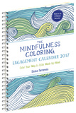 Mindfulness Coloring - 2017 Planner Calendars