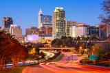 Raleigh, North Carolina, USA Downtown City Skyline. Photographic Print by  SeanPavonePhoto