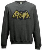 Crewneck Sweatshirt: Batman 1966 - Logo T-skjorter