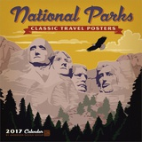 National Parks Classic Posters - 2017 Calendar Calendars