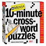 Mensa 10-Minute Crossword Puzzles Page-A-Day - 2017 Boxed Calendar Calendars