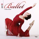 Ballet - 2017 Calendar Kalendarze