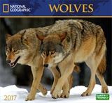 National Geographic Wolves - 2017 Calendar Kalendere