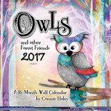 Owls - Connie Haley - 2017 Calendar Calendars