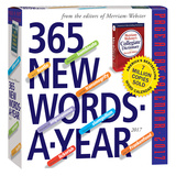 365 New Words-A-Year Page-A-Day - 2017 Boxed Calendar Kalendere