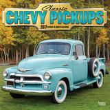 Classic Chevy Pickups - 2017 Calendar Kalendáře