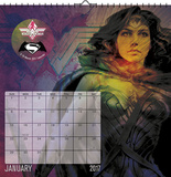 Wonder Woman - 2017 Spiral Bound Calendar Calendars