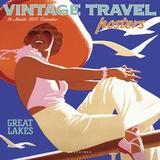 Vintage Travel Posters - 2017 Calendar Kalendere
