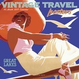 Vintage Travel Posters - 2017 Calendar Calendars