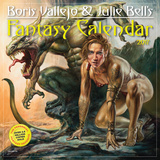 Boris Vallejo & Julie Bell's Fantasy - 2017 Calendar Kalendere
