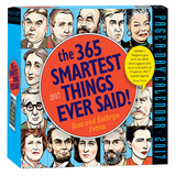 365 Smartest Things Ever Said! Page-A-Day - 2017 Boxed Calendar Calendars
