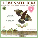 Illuminated Rumi - 2017 Calendar Calendars