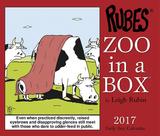 Zoo In A Box - 2017 Boxed Calendar Kalendarze