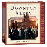 Downton Abbey Color Page-A-Day - 2017 Boxed Calendar Calendars