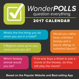 WonderPolls: Question Everything! - 2017 Boxed Calendar Calendars