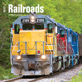 Railroads - 2017 Calendar Calendriers