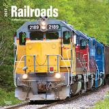 Railroads - 2017 Calendar Kalendáře