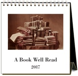 A Book Well Read - 2017 Easel Calendar Calendriers