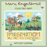 Mary Engelbreit's 40th Anniversary Collectible - 2017 Calendar Calendars