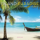 Island Paradise - 2017 Mini Calendar カレンダー