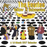 The Beatles Yellow Submarine - 2017 Calendar Calendars