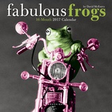 Fabulous Frogs - 2017 Mini Calendar Kalendere