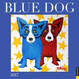 Blue Dog - 2017 Calendar Kalendarze