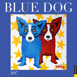 Blue Dog - 2017 Calendar - Takvimler