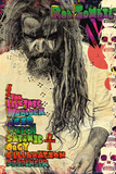 Rob Zombie- Electric Warlock Print