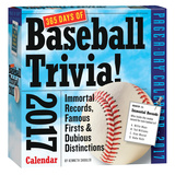 365 Days Of Baseball Trivia! Page-A-Day - 2017 Boxed Calendar Calendari