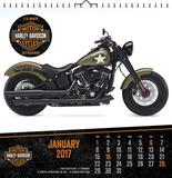 Harley-Davidson - 2017 Spiral Bound Calendar Calendars