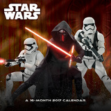 Star Wars Episode VII - 2017 Calendar Calendarios
