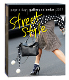 Street Style Page-A-Day Gallery - 2017 Boxed Calendar Calendars