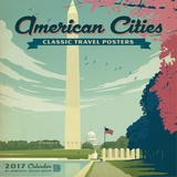 American Cities Classic Posters - 2017 Calendar Calendars