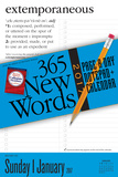 365 New Words Page-A-Day Notepad + - 2017 Calendar Pad Calendars