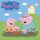 Peppa Pig - 2017 Calendar Calendars