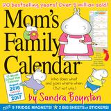 Mom's Family Calendar - 2017 Calendar Calendriers