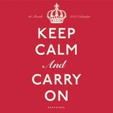 Keep Calm and Carry On - 2017 Calendar Kalendarze