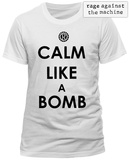 Rage Against The Machine- Calm Like A Bomb Tshirts